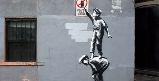 Banksy, Manhattan - NewYork, The street is in play