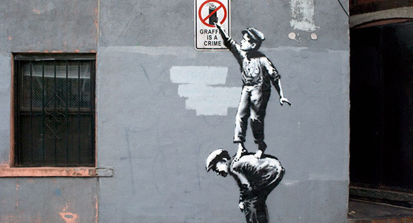 "Banksy – ""Better Out than in"""