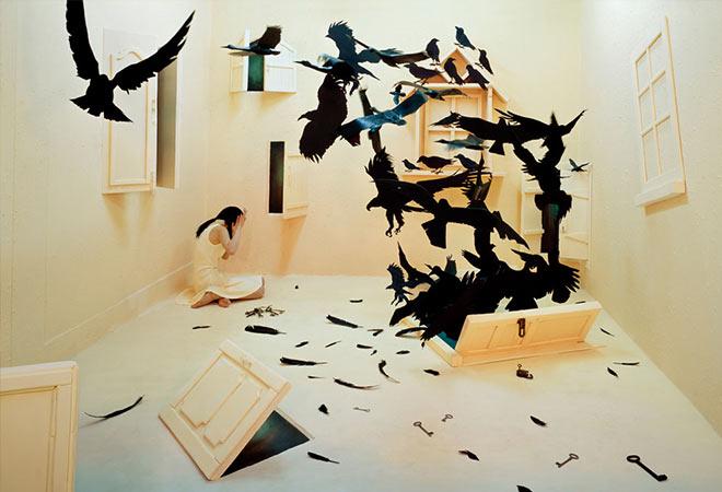 Black birds - Stage of mind