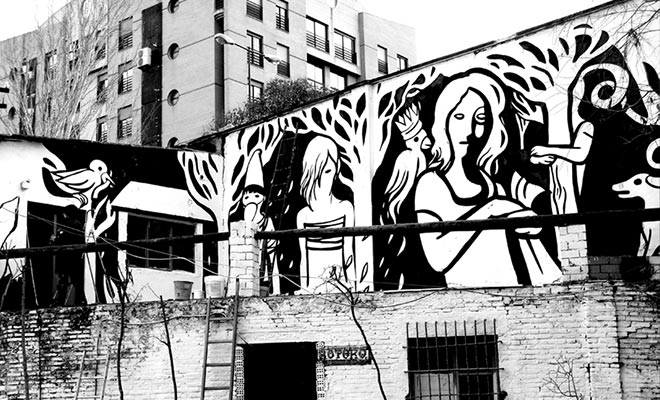 MP5 - Street art made in ITA