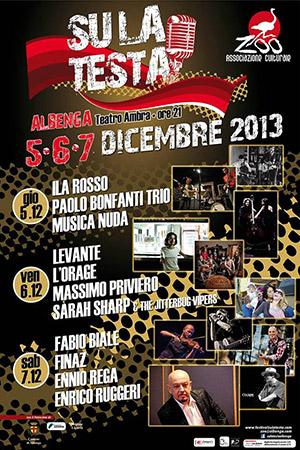 Su la Testa Festival- Albenga Teatro Ambra 5-6-7 Dicembre