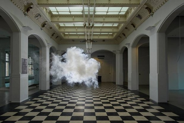 Berndnaut Smilde, Nimbus II 2012. Photo by Cassander Eeftinck Schattenkerk.