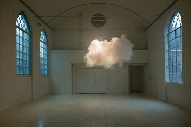 Berndnaut Smilde, Nimbus II 2012. Photo by Cassander Eeftinck Schattenkerk