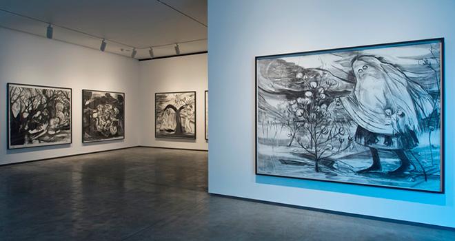 Kara Walker. Installation view at the MAC. Photo courtesy of Jordan Hutchings