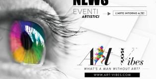 Art Vibes - Eventi artistici, news. Scopri l'arte intorno a te!
