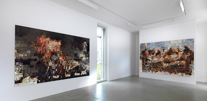 Rashid Rana, Installation view - Lisson gallery, Milan