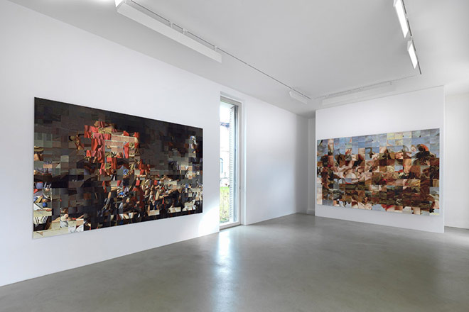Rashid Rana - Installation view - Lisson Gallery, Milano