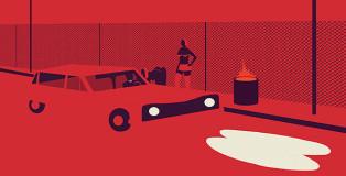 Emiliano Ponzi, illustrazione tratta da L'inferno
