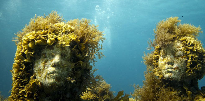 Jason deCaires Taylor - Underwater sculptures