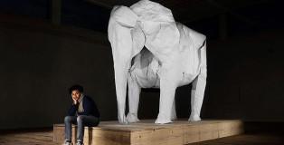 Sipho Mabona - Elephant Origami