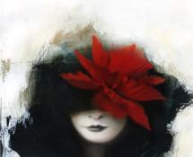 Donna dal fiore rosso - Sonia Maria Luce Possentini