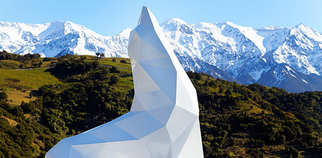 Ben Foster – Geometric Animal Sculptures