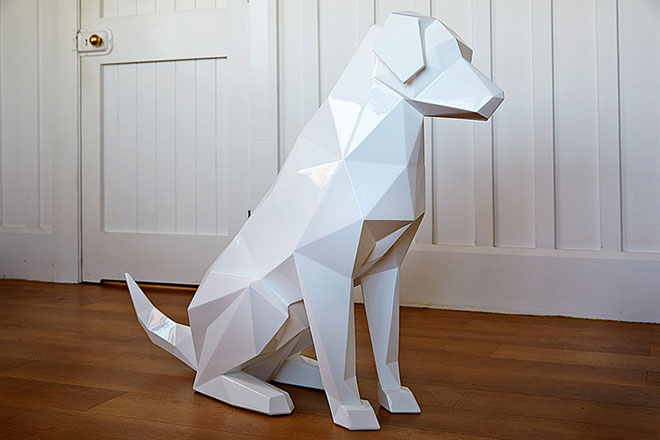 Ben Foster - Geometric Animal Sculptures