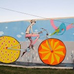 Mart – Bycicle street art