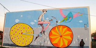 Mart - Bycicle street art