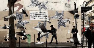 Madame Moustache - Street art