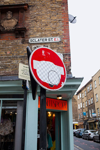 Street Art Brick Lane - London