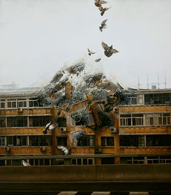 Begin Again 2012 - Oil on Board