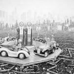 Laurie Lipton – Large scale drawings