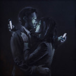 Banksy – Mobile Lovers & Spy Booth