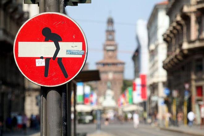 Clet Abraham - Il nuovo volto dei cartelli stradali