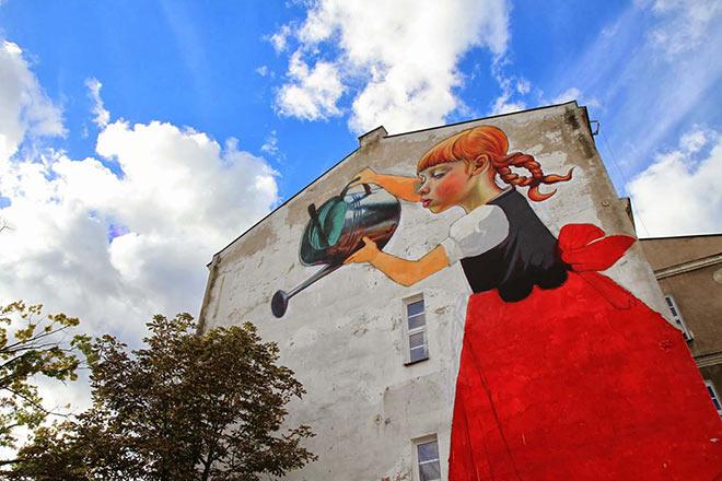 Natalia Rak – Street Art & Paintings