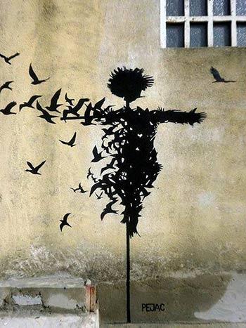 Pejac - Street Art