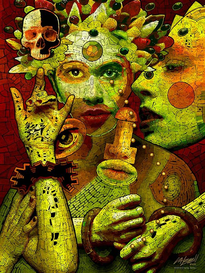 Charlie Terrell - Digital Art