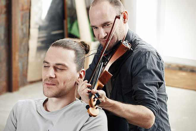 Hair Music, the experiment