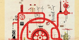 Federico Babina - Archimachine - Japan, detail