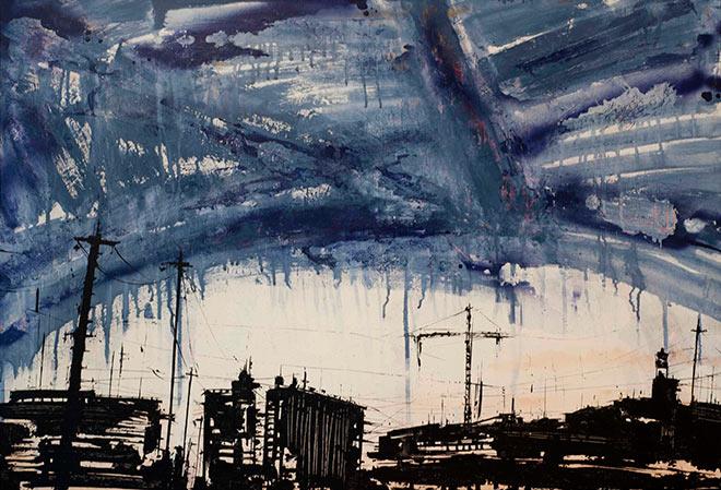 Francesco Barbieri - Sotto un cielo al petrolio