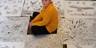 Dušan Krtolica - 11 anni, un prodigio del disegno