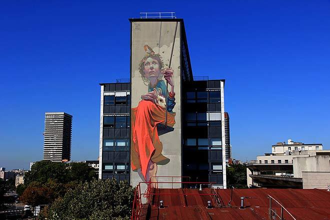 "Urban Street Art - ""High Hopes"