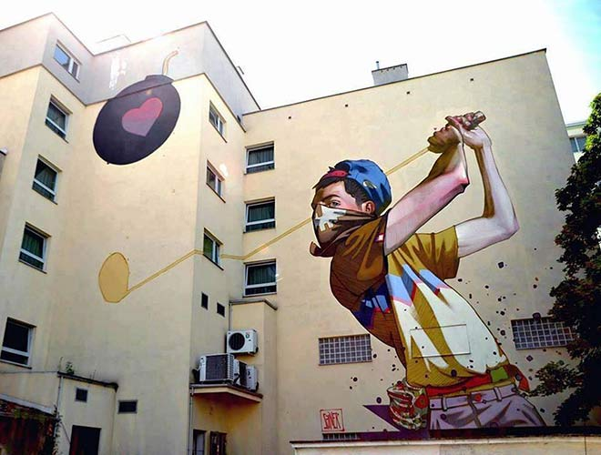 "Urban Street Art - ""Cupido"