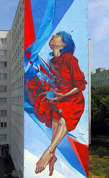"""Urban Street Art - """"The Healer"""