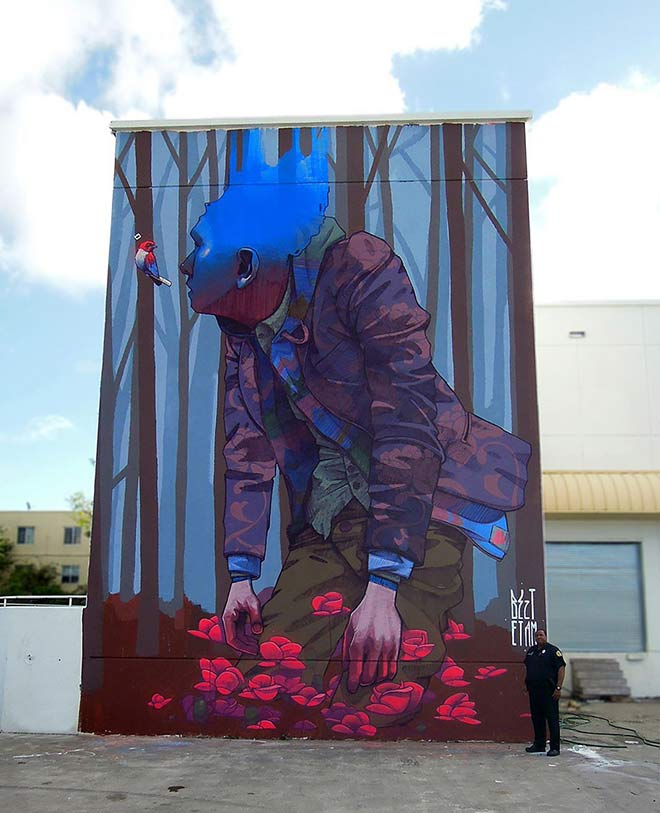 "Etam Cru - Urban Street Art - ""The Change"