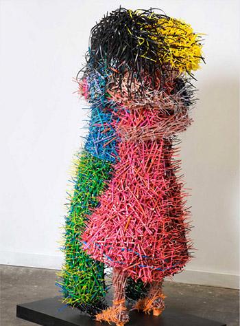 Federico Uribe - Pencilism, Sculptures
