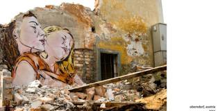 Jana & Js - La Street Art che ci osserva