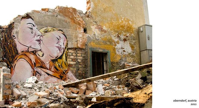 Jana & Js – La Street Art che ci osserva