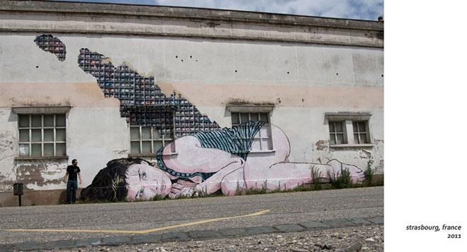 La Street Art che ci osserva