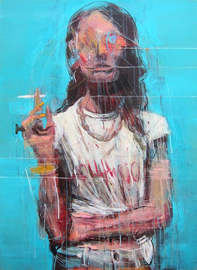Kim Byungkwan – Portrait Paintings