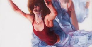 Michelle Jader - Oil paintings on plexiglass