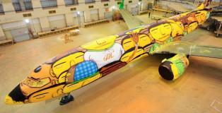 Os Gemeos - Seleção Boeing Murales