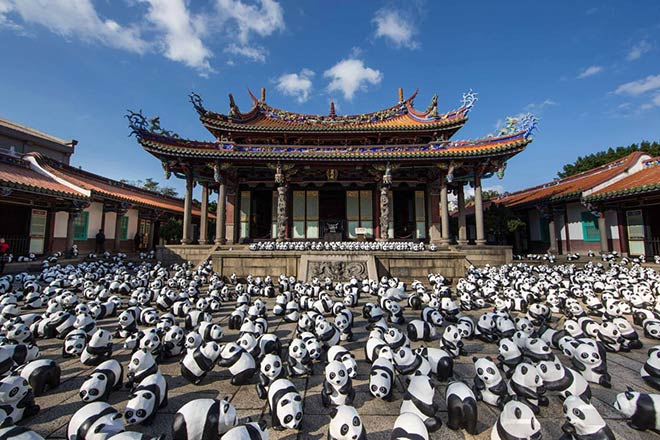 Pandas - Hong Kong - 1600 pandas world tour