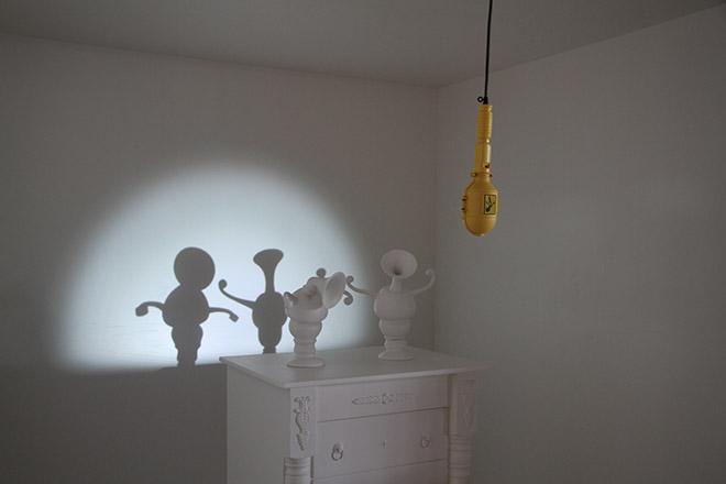 Parade - Dancing Shadow sculptures