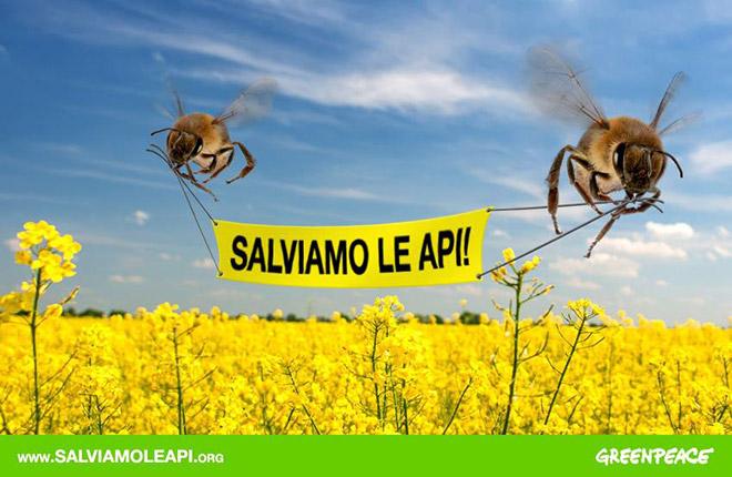 Salviamo gli umani - Greenpeace Campaign