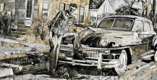 Vik Muniz - New Car, Album, 2014 Digital C-Print