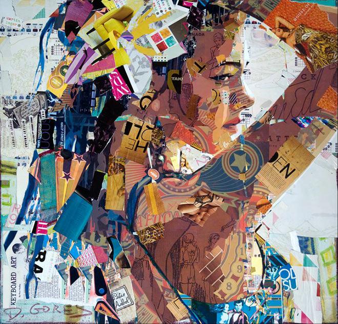 Derek Gores – Collage Artworks