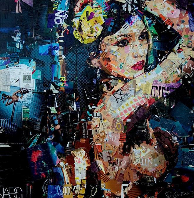 Derek Gores - Collage Artwork
