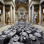 JR – Au Pantheon Installation